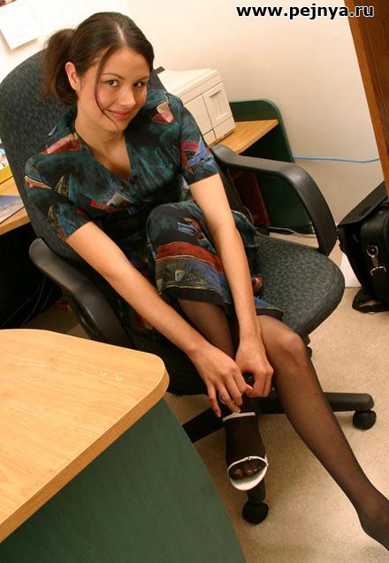 Секси секретарша фото