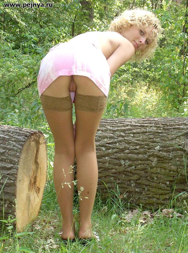 Пежня ру под юбками