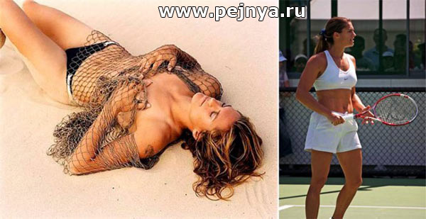 Эротические фото теннисисток известных, порно времен хиппи